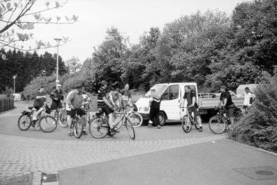 Fahrradtour beim Vereinsausflug 1999