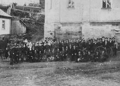 Die Geschichte der FF Wartenfels 1875 - 2000