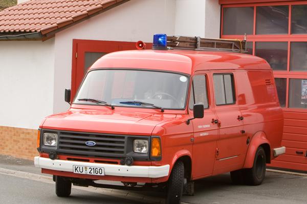 Feuerwehrauto der Freiwilligen Feuerwehr Wartenfels