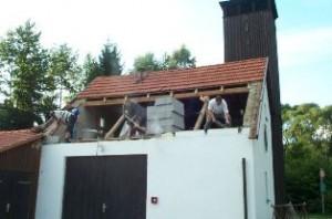 Umbau des Geräthauses 2002