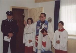 Einweihung des Jugend und Schulungsraums 2003