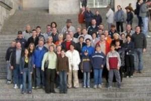 Besuch des Reichstages Berlin 2004
