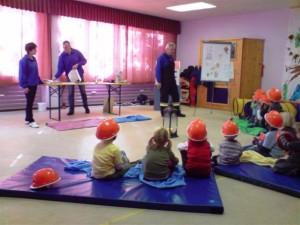 Brandschutzerziehung im Kindergarten Wartenfels 2009